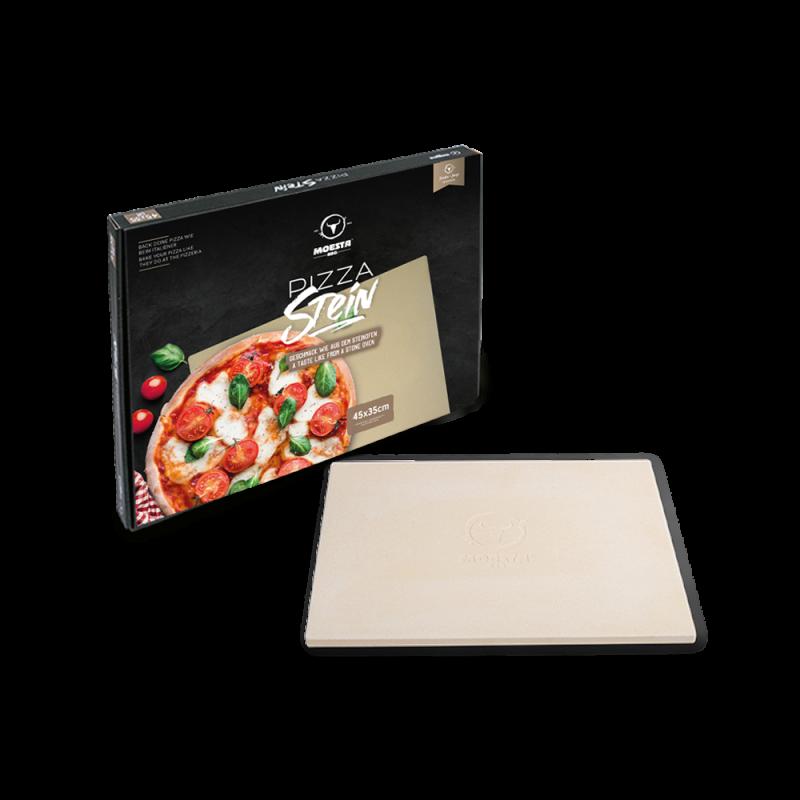Pizzastein No. 1 eckig 45x35cm