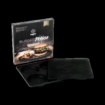 BurgerPresse No.1 - Die 4-Fach Silikon Hamburgerpresse